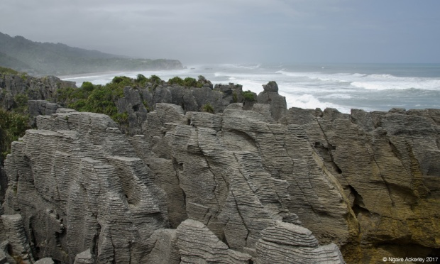 Punakaiki, Pancake Rocks - West Coast, New Zealand