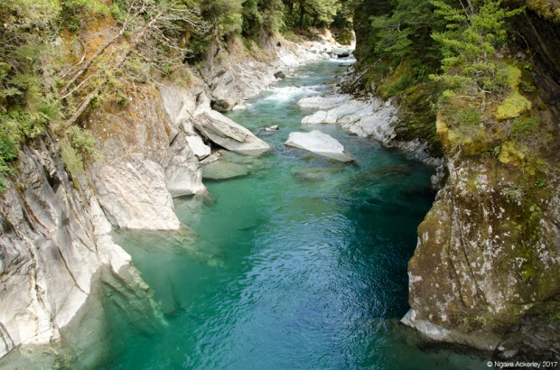 Blue Pools, New Zealand