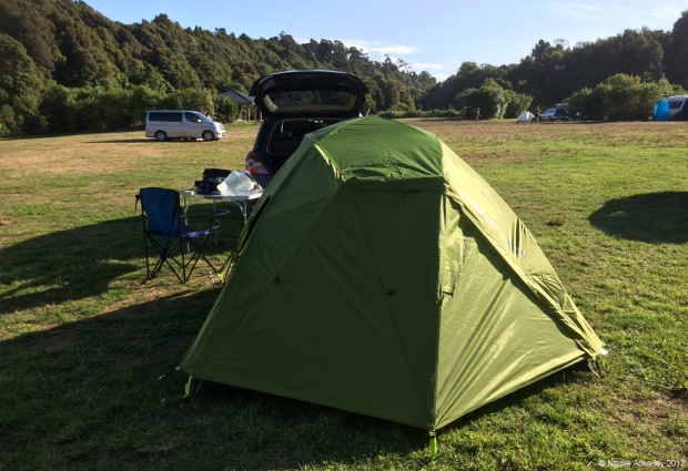 My lovely campsite for the night