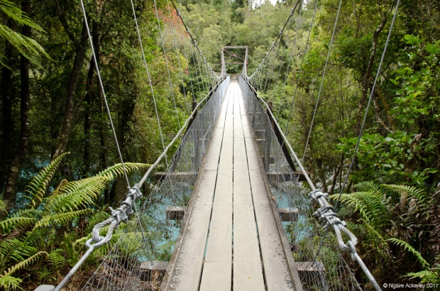 Hokitika Gorge swingbridge