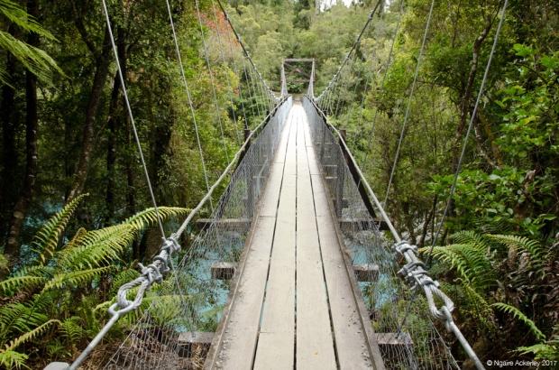 Hokitika Gorge swingbridge