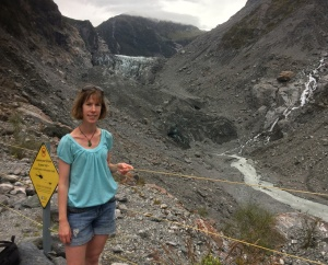Me at Fox Glacier