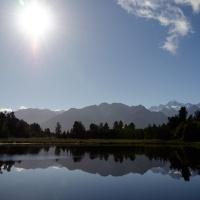 Reflections of Christmas: Roadtrip to Franz Josef and Fox Glaciers