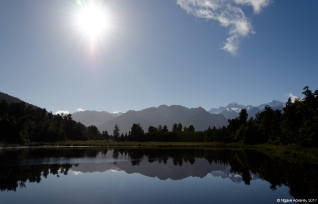 Still reflections of Lake Matheson