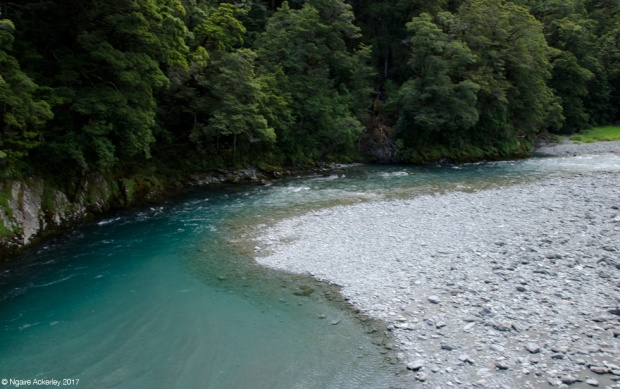 Walk to the Blue Pools, South Island, New Zealand