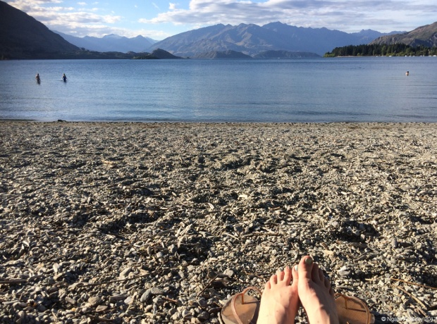 Sunshine at Lake Wanaka