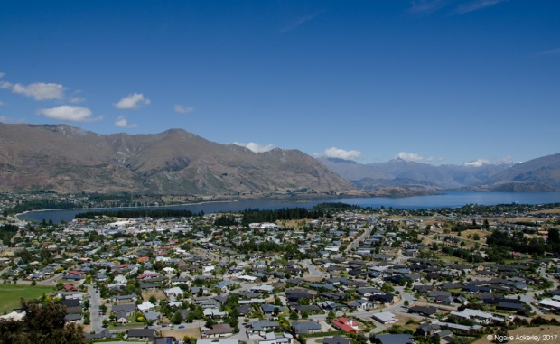 Wanaka Township - grown since I was here last