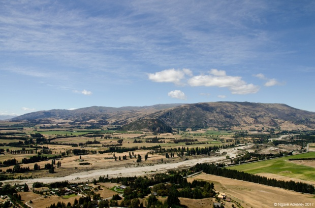 Landscapes around Mount Iron, Wanaka