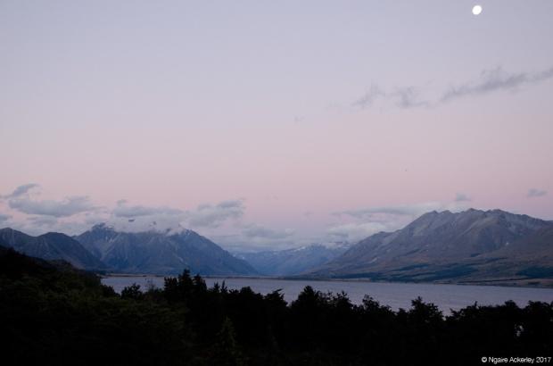 Sunset, Lake Ohau