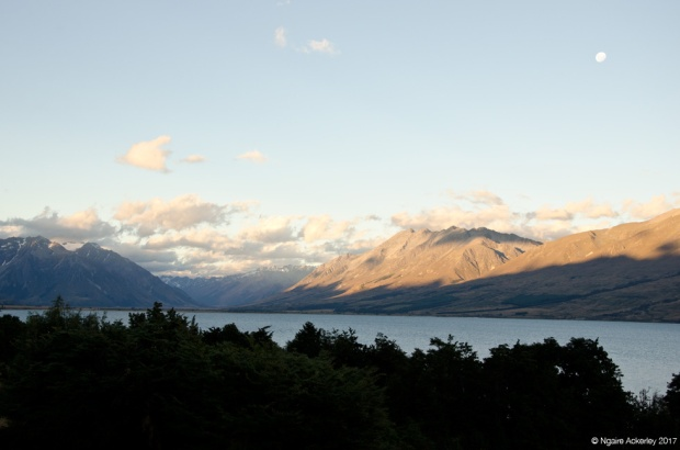 Sunset, Lake Ohau