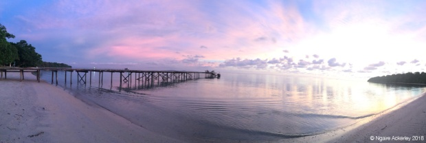 Sunset at Pulau Tiga