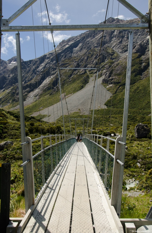 Swing Bridges on the Hooker Valley track