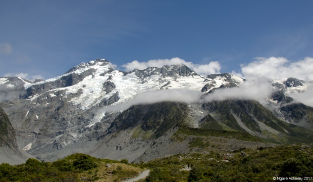 Mt Sefton and the Hooker Valley