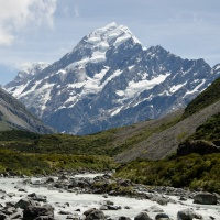 Scenic delights of Aoraki Mount Cook