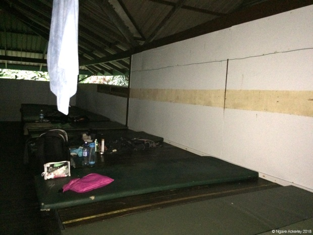 Camp 5 sleeping area