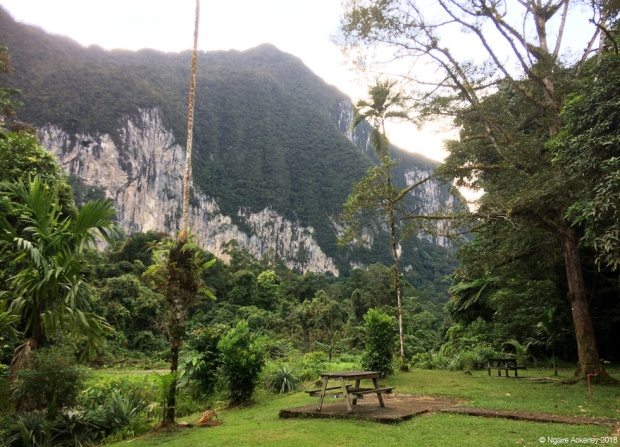 Camp 5 landscape