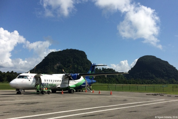 Last flight to Mulu National Park
