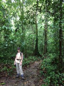 Hiking the headhunters trail