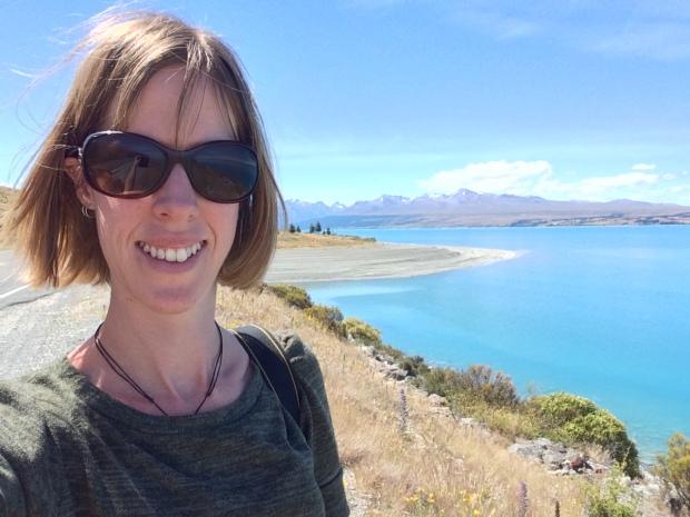 Me at Lake Pukaki