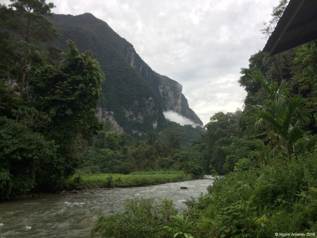 View from Camp 5, Mulu National Park, Borneo