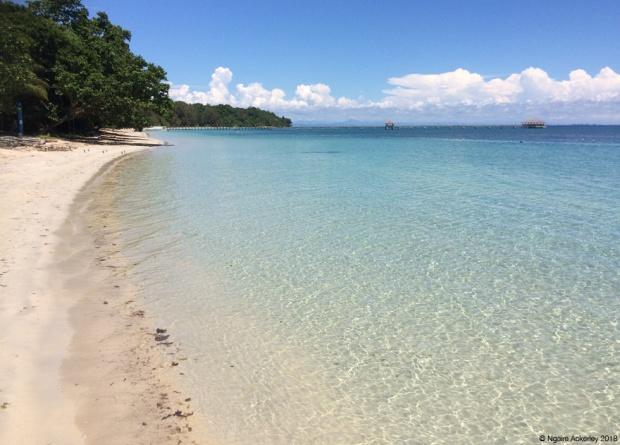 Beach at Pulau Tiga