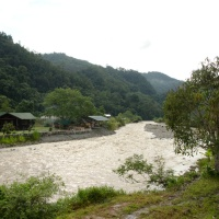 Homestay and local village of Tambatuon, Kota Belud, Borneo