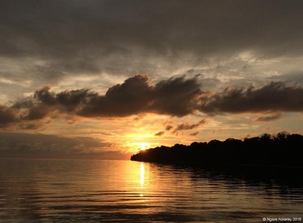 Sunset, Pulau Tiga, Borneo
