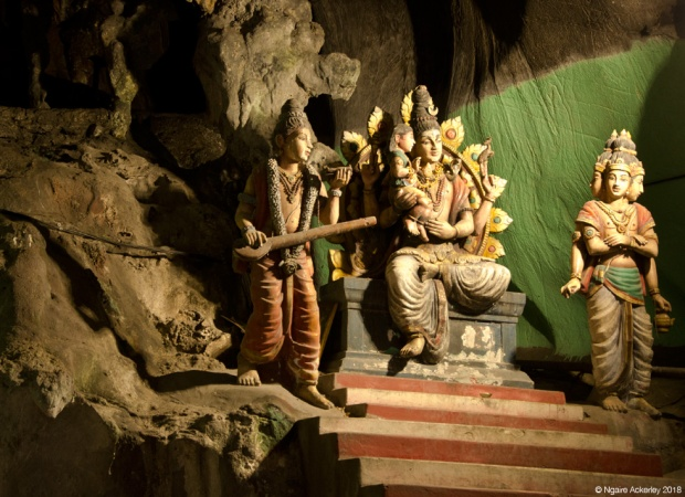 Shrine inside the Cathedral Cave, Batu Caves