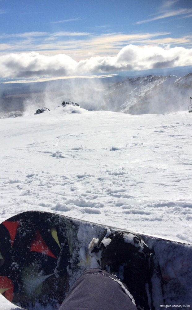 Snowboarding at Mt. Ruapehu