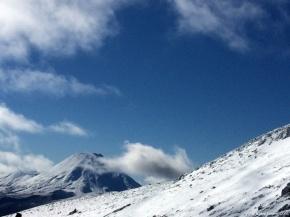 View from Whakapapa skifield